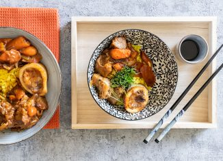 poke bowl con ossobuco di vitello ricetta