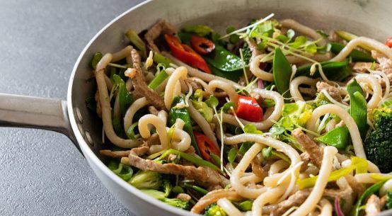 pici con wok