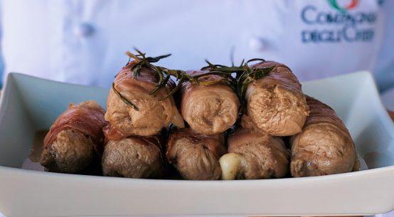 involtini di vitello ricetta speck zucchine