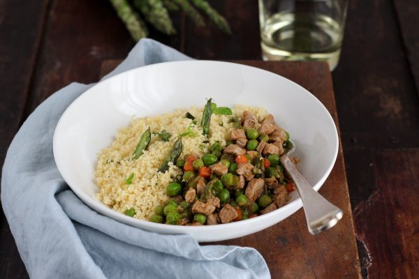 cous cous ricetta con vitello e verdure