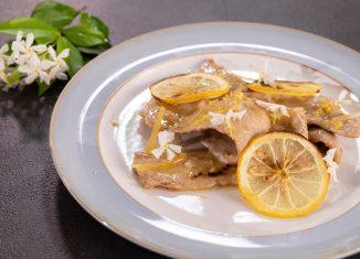 scaloppina al limone ricetta facile