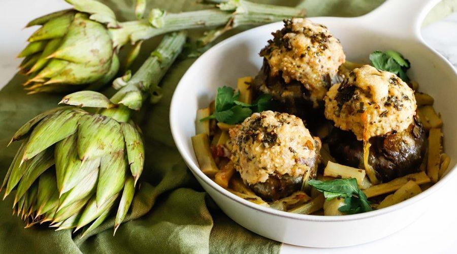 La ricetta dei carciofi ripieni, tipico piatto di primavera