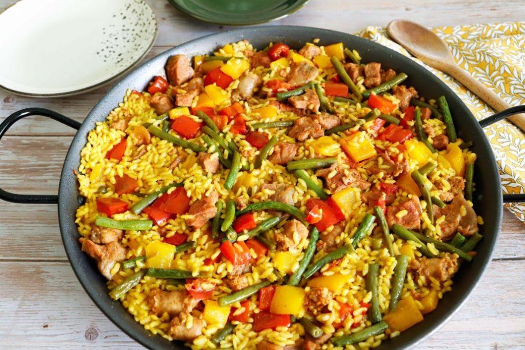 paella-di-carne-e-verdure