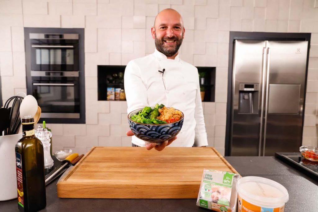 poke-con-straccetti-cous-cous-e-verdure
