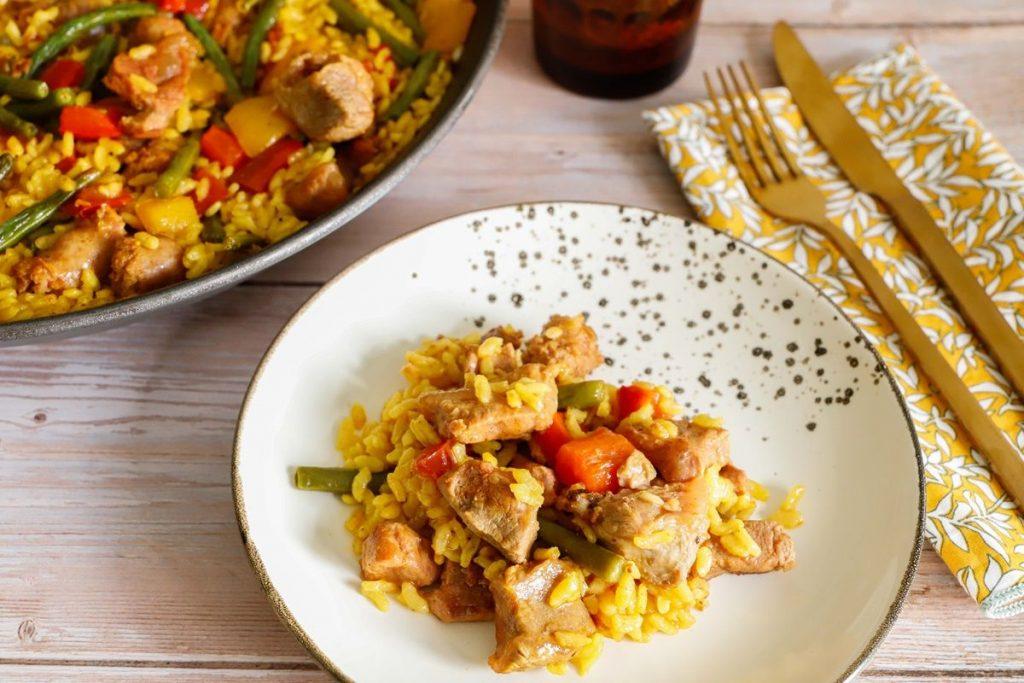 ricetta-paella-di-carne